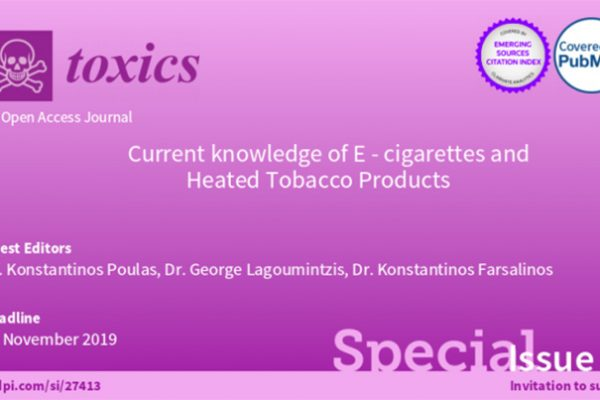 """Paper submission to """"Toxics"""" Special Issue"""